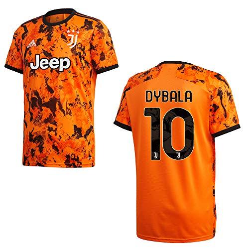 adidas Juventus Turin Trikot 3rd Kinder 2021 - Dybala 10, Größe:140