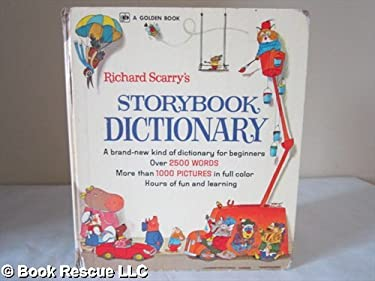 RICHARD SCARRY'S STORYBOOK DICTIONARY A GIANT GOLDEN BOOK