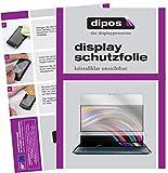 dipos I Schutzfolie klar kompatibel mit Asus ZenBook Pro Duo Folie Bildschirmschutzfolie