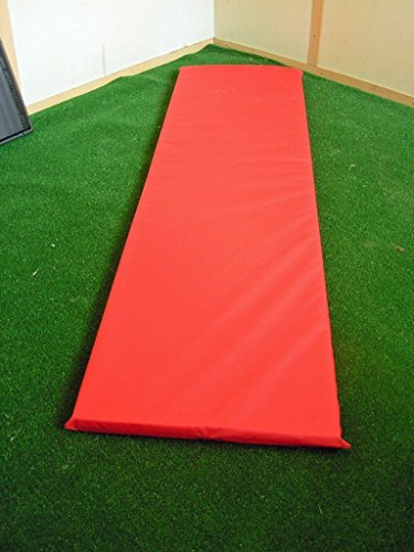KosiPad Memory Foam Waterproof Replacement Cushion Pad For Garden Sun Lounger/Recliner/Chair (Hot Red)