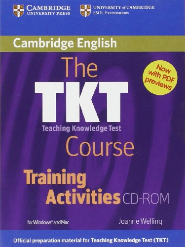 TKT COURSE, THE - TRAINING ACTIVITIES - CD-ROM