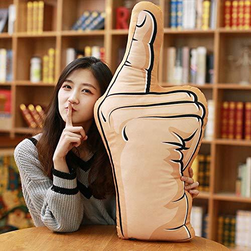 CPFYZH 60 Cm Boyfriend Boyfriend Gesture Pillow Plush Toy Fist Cushion Girl Gift-Index Finger_60Cm