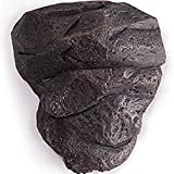 WINGOFFLY® Upgraded Unique Design Resin Made Rock Stone for Climbing Man Wall Art Home Decor Sculpture(Black Rock)