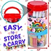 FunzBo Arts and Crafts Supplies for Kids - Craft Art Supply Kit for Toddlers Age 4 5 6 7 8 9 - All in One D.I.Y. Crafting School Kindergarten Homeschool Supplies Arts Set Christmas Crafts for Kids #5