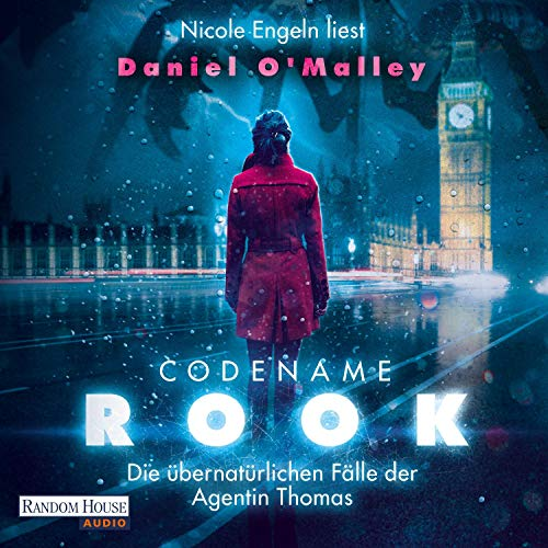 Codename Rook audiobook cover art