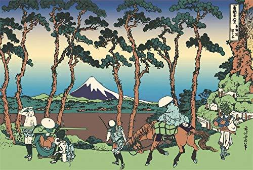 Paisaje del Monte Fuji 1000 Puzzle Piezas Educativo Intelectual de descompresión Divertido Juego Familiar para niños Adultos Fotos y paisajes para para Animal Rompecabezas Clásico