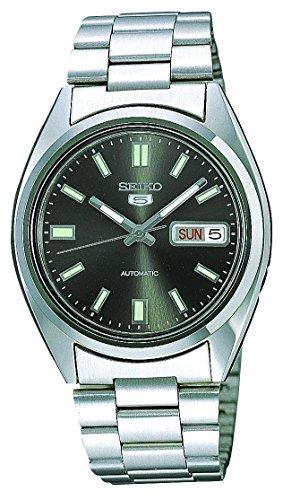 Seiko Reloj Analogico para Hombre de Automático con Correa en Acero Inoxidable SNXS79