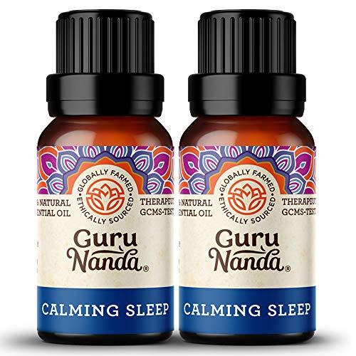 GuruNanda Calming Sleep Essential Oil (Pack of 2) - Ease...