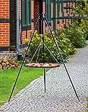 BlackOrange - Griglia girevole da 180 cm con griglia in acciaio, Ø 70 cm