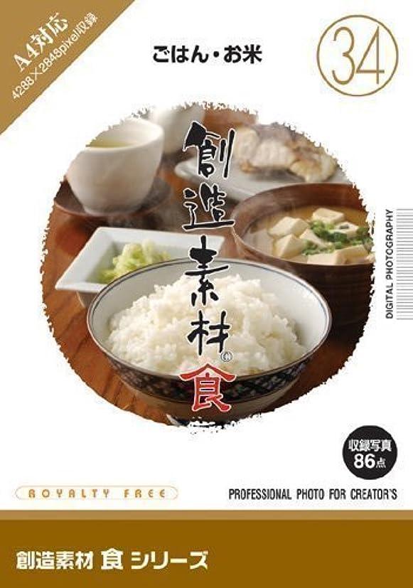 キャッチシガレット枝創造素材 食(34) ごはん?お米