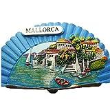 Mallorca España Europa Ciudad Mundial Resina 3D Fuerte Imán para nevera recuerdo turístico Regalo chino Imán hecho a mano Artesanía Creativa Casa y Cocina Decoración magnética (3)