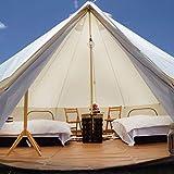 YAGUANGSHI Yurta al Aire Libre Tela Anti-Mosquitos Oxford Camping Tienda de campaña para múltiples Personas hogar hogar,600 * 600 * 350cm
