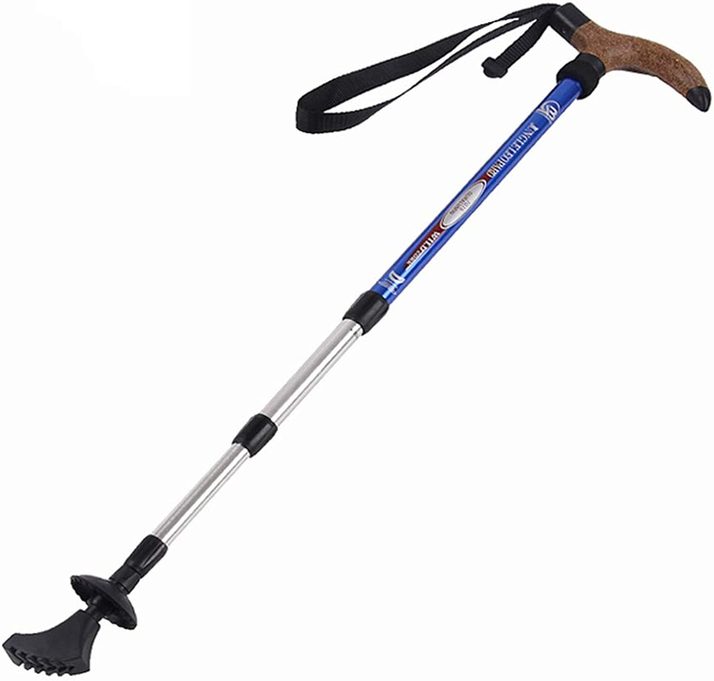 Ultra Lightweight Trekking Poles  Adjustable Hiking or Walking Pole  Strong, Lightweight Aluminum 7075 Walking Sticks for Men Woman,blueee