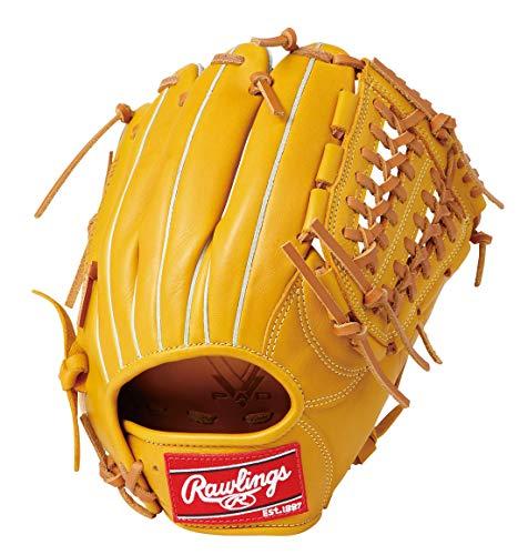 ローリングス(Rawlings) 軟式 野球 グローブ HYPER TECH [オールラウンド用] ハイパーテック GR9HTN62 ゴールドタン [サイズ 11.25] [11 1/4inch] LH(Right hand throw)※右投用