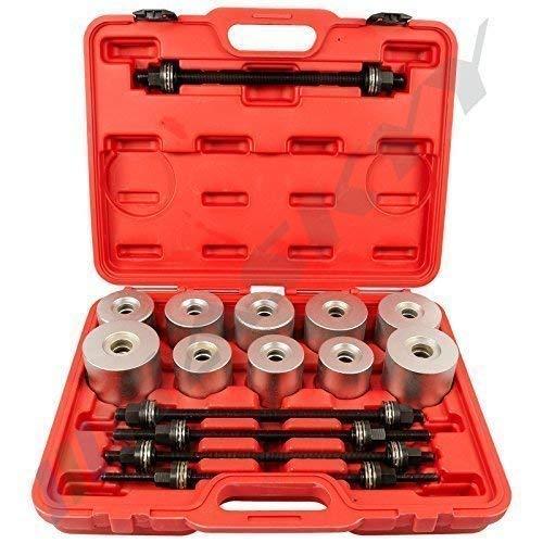 27 Piezas Rodamientos Silenciosos Juego Extractor Prensa Juego de Cojinetes Del Eje Lager Herramienta Extractor Tren 8-9-10-11-12-13-14-15-16-17-18-19 mmCSLW27T-15