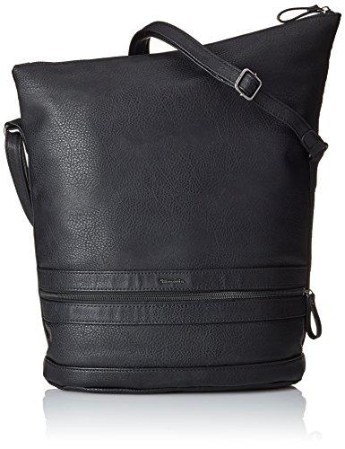 Tamaris Damen SMIRNE Hobo Bag Schultertaschen, Schwarz (black 001), 28x28x15 cm
