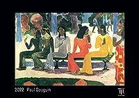 Paul Gauguin 2022 - Black Edition - Timokrates Kalender, Wandkalender, Bildkalender - DIN A4 (ca. 30 x 21 cm)
