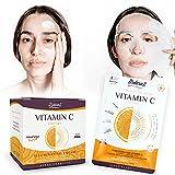 Crema y Mascarilla Antimanchas facial Iluminadoras con Vitamina C y Acido Hialurónico de Ardaraz