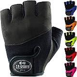C.P. Sports Iron-Handschuh Komfort farbig Trainingshandschuh Fitness Handschuhe für Damen und...