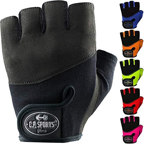 C.P. Sports Gant de Fer Confort Gant d'entraînement coloré Gants de Fitness pour Hommes et Femmes, Gant de Fitness, Musculation, Bodybuilding