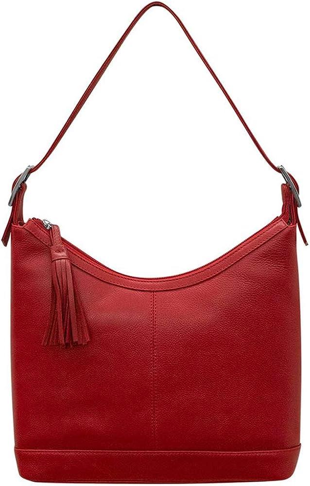 ili New York 6924 Leather Classic Hobo