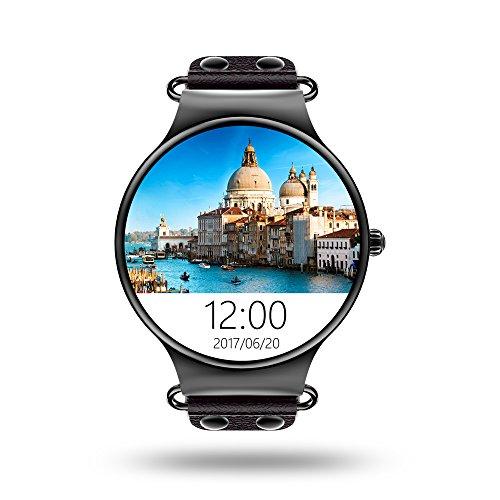 lemfo Smart Watch 1.3 GHz Quad Core CPU GSM/WCDMA WiFi/BT4.0/GPS/contapassi frequenza cardiaca Smart Watch per Android 5.1 iPhone IOS 9.0
