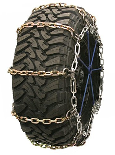 Quality Chain Wide Base Square Alloy Cam 7mm Link Tire Chains (3129SLC)