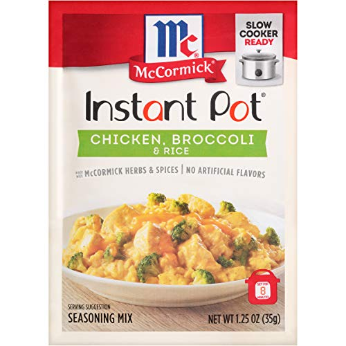 McCormick Instant Pot Chicken, Broccoli & Rice Seasoning Mix, 1.25 oz (Pack of 12)