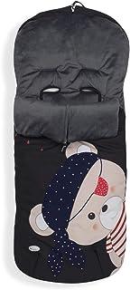 Interbaby Interbaby 10031 Universal Fußsack für Kinderwagen, Pirat