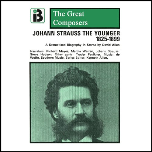 Johann Strauss the Younger audiobook cover art