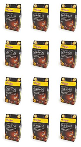 12 X Bar-Be-rapide Eclat Grab & Grill de sac de charbon de bois Lumpwood 500g Parfait pour pique-nique, barbecues bouilloire barbecues, Foyers et bien plus encore! Il suffit de lumière, et faire cuire!