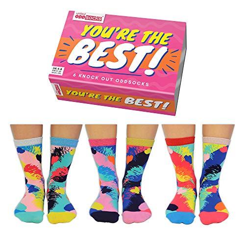 You're the Best Oddsocks Socken in 37-42 im 6er Set - Strumpf