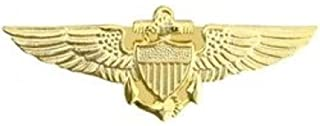 HMC Navy Pilot Wings Small Pin ,Gold ,X-Small
