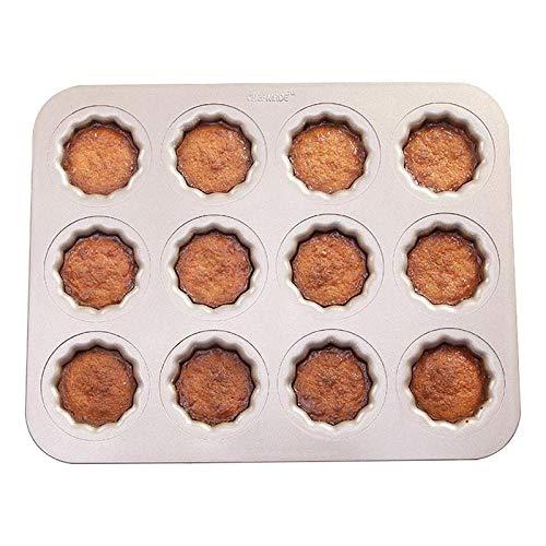 12 kopjes kleine siliconen Canneles schimmel Custard koffie cakevorm Cake bakken siliconen mal
