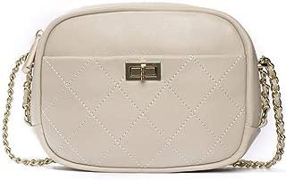 New Small Round Bag Women's Leather Shoulder Bag Women's Casual Fashion Wild Crossbody Bag(FM),B