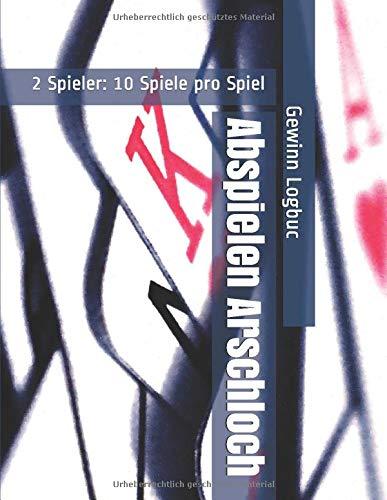 Abspielen Arschloch - 2 Spieler: 10 Spiele pro Spiel - Gewinn Logbuc