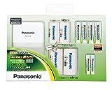 パナソニック エネループ ファミリーセット 単3形充電池 4本・単4形充電池 2本付き 単1形・単2形スペーサー入り K-KJ22MCC42S
