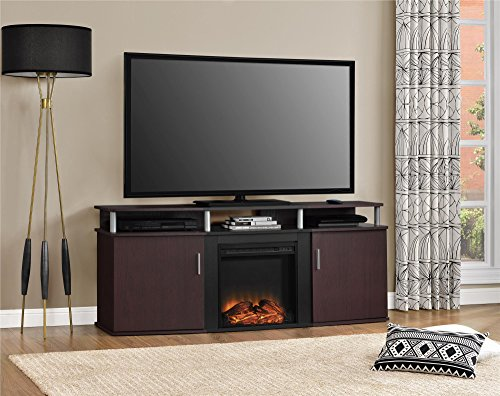 Ameriwood Home Carson Electric Fireplace TV Console for TVs...