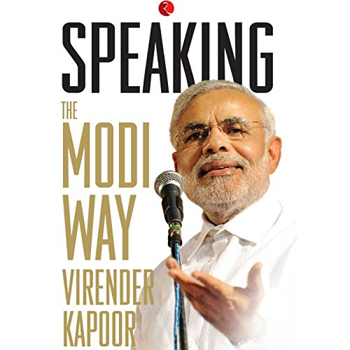 Speaking: The Modi Way cover art