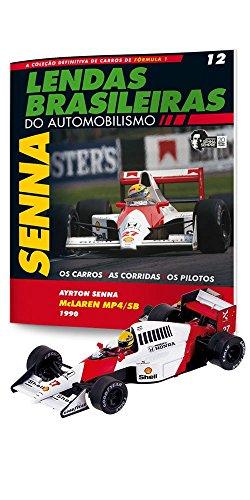 Mclaren Honda Mp4/5B. Ayrton Senna - Lendas Brasileiras do Automonilismo. 12