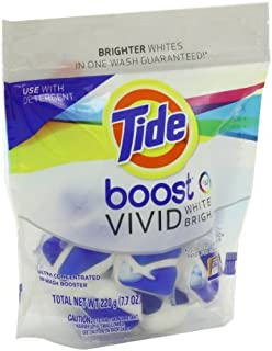 Tide Boost Vivid White + Bright He In-Wash Booster 10 Count by Tide