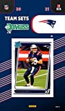 New England Patriots 2021 Factory Sealed Team Set with Tom Brady Plus a Rated Rookie card of Mac Jones #255. rookie card picture