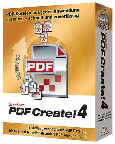 Scansoft PDF Create! 4.0 W32/NT