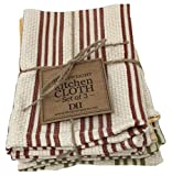 Design Imports Rustic Sunflowers Table Linens, 13-Inch by 13-Inch...