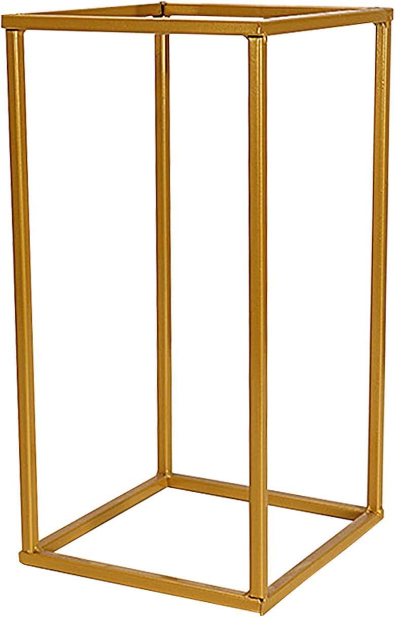 Metal Vase Column Stand Geometric 5 ☆ very popular New York Mall Props R Vases Flower Rustproof