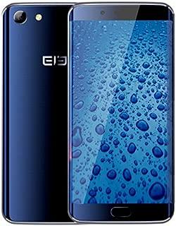 Elephone S7 欧州版 日本仕様4G LTE対応 SIM 2スロット搭載●Android 6.0 Marshmallow●13MP SONYカメラ・5.5インチFHD IPS液晶●指紋認証・E-Compass (4GB+64GB, Blueメーカー保証付き)