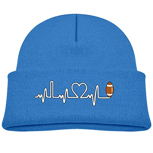 hgdfhfgd Rugby Ball Heartbeat Baby Infant Toddler Winter Warm Beanie Hat Cute Children's Thick Stretchy Cap Keep warm 18917