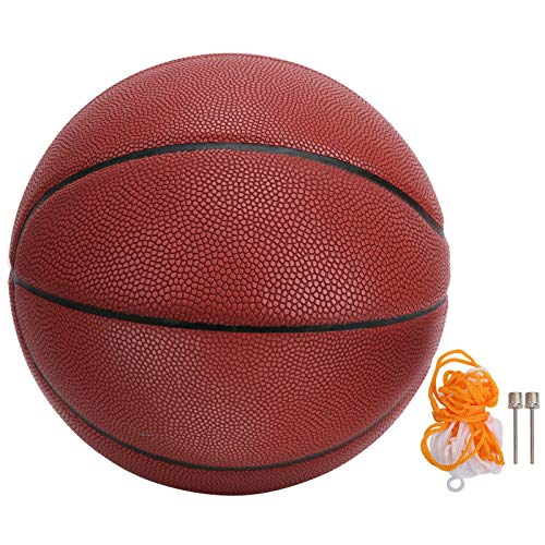 VGEBY Basketball, Red Paste PU Leather Official Size 7 Streetball for...
