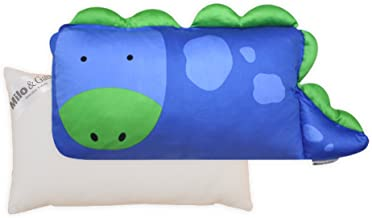 Milo & Gabby Toddler Pillowcase and Pillow Insert, Dylan The Dinosaur