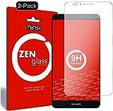 ZenGlass [2 Stück Flexible Glas-Folie kompatibel mit Huawei Ascend Mate 7 Panzerfolie I Bildschirm-Schutzfolie 9H